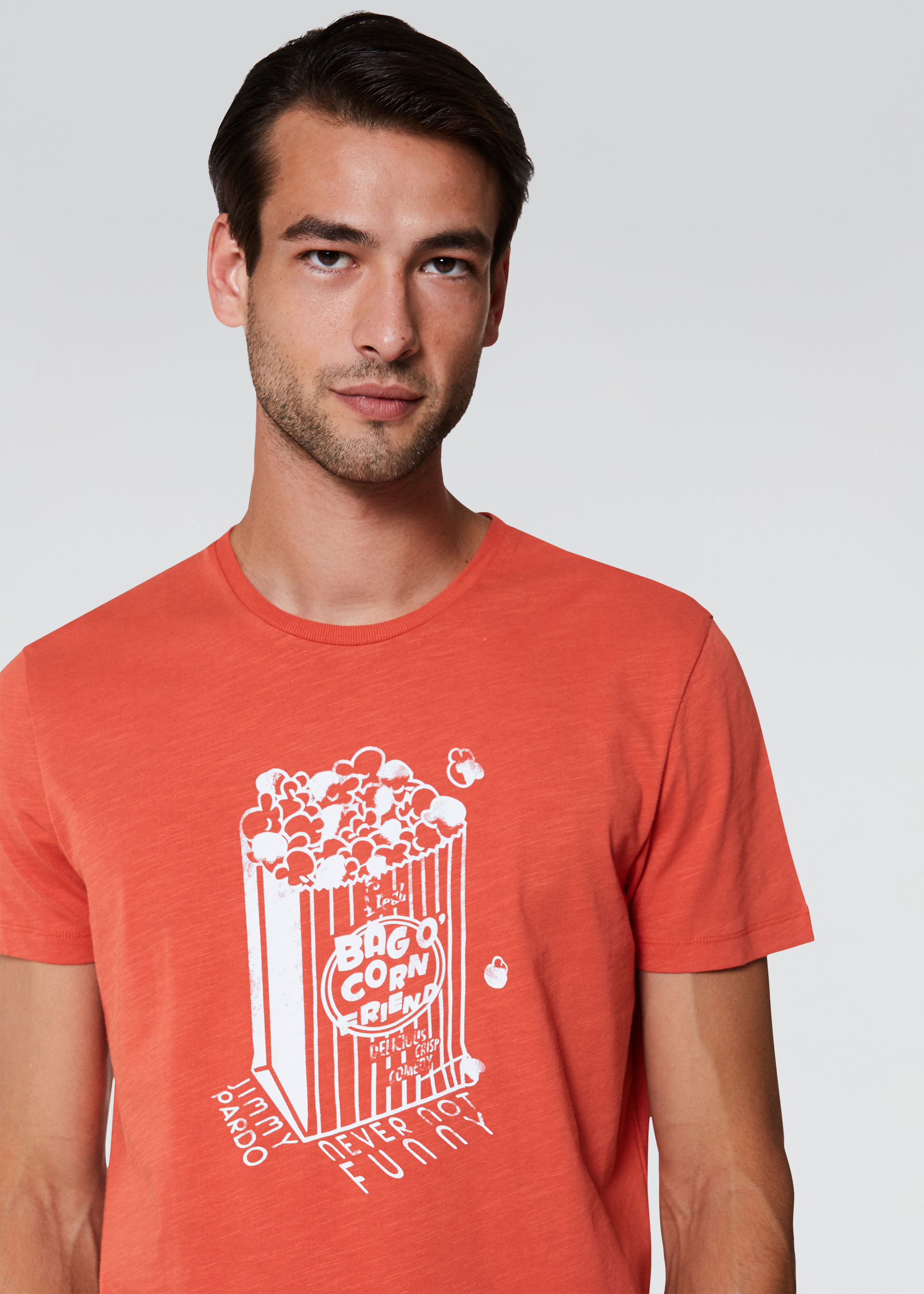 T-shirt stampa pop corn