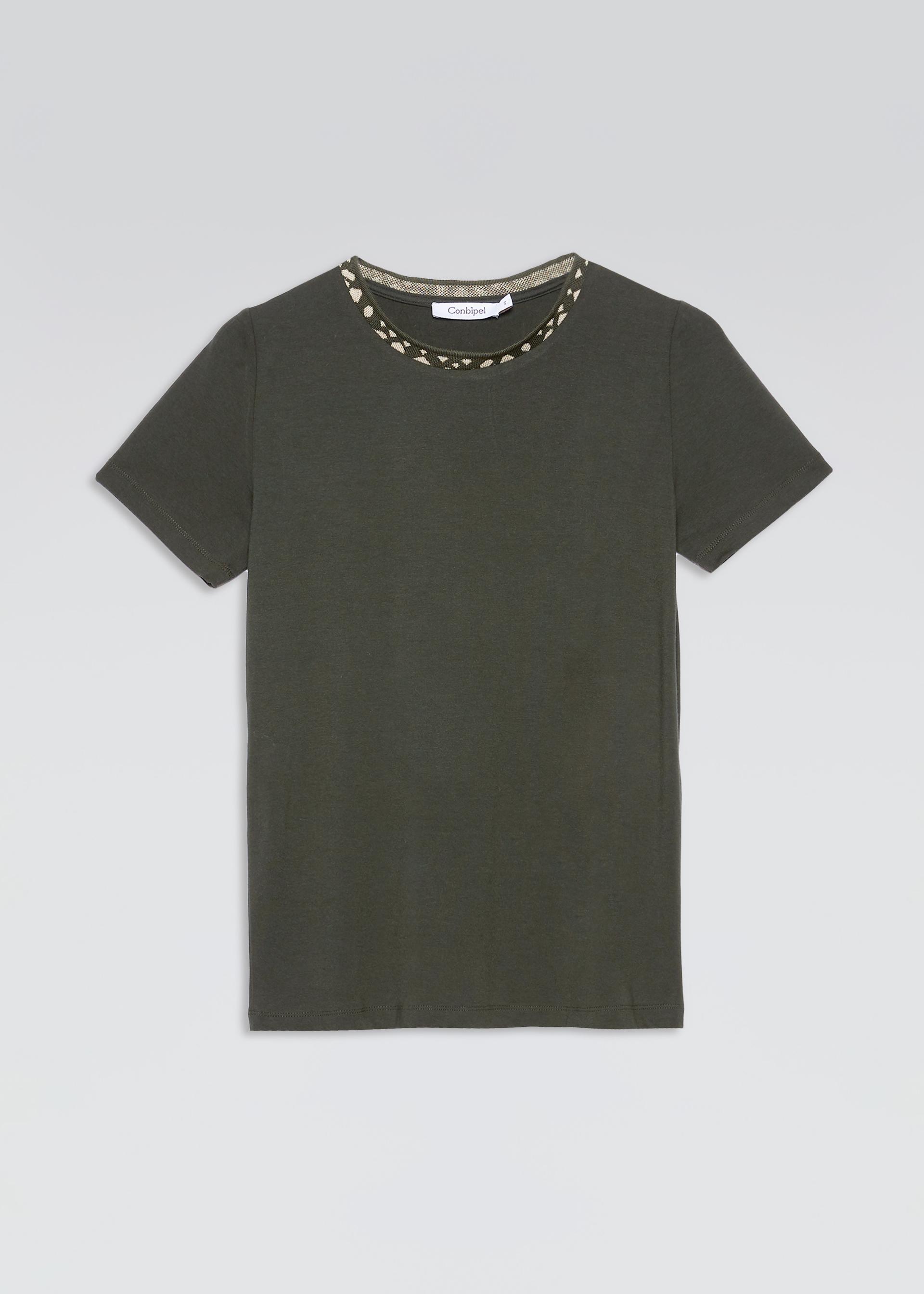 T shirt con collo decoro | Conbipel