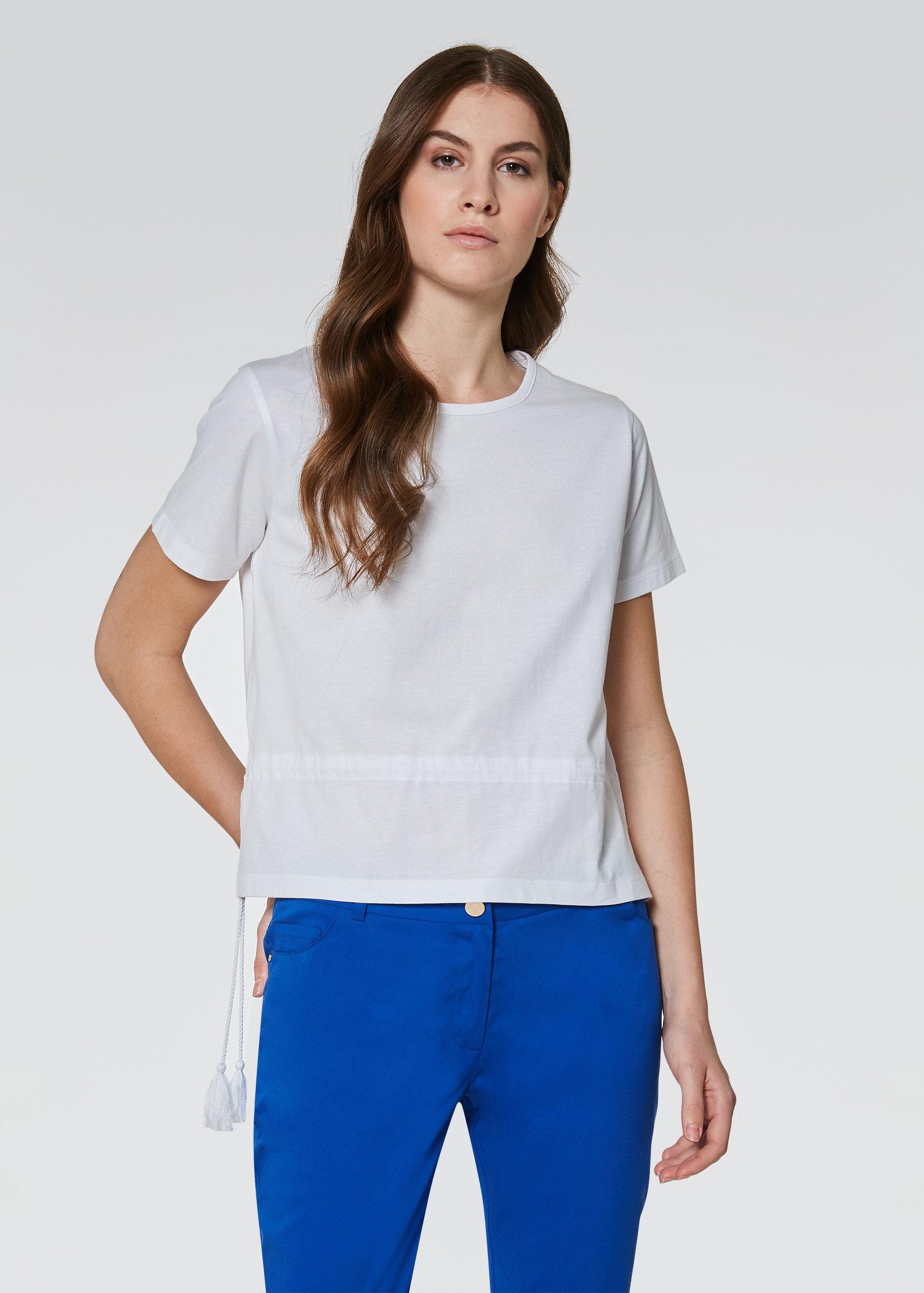 T-shirt con nappine