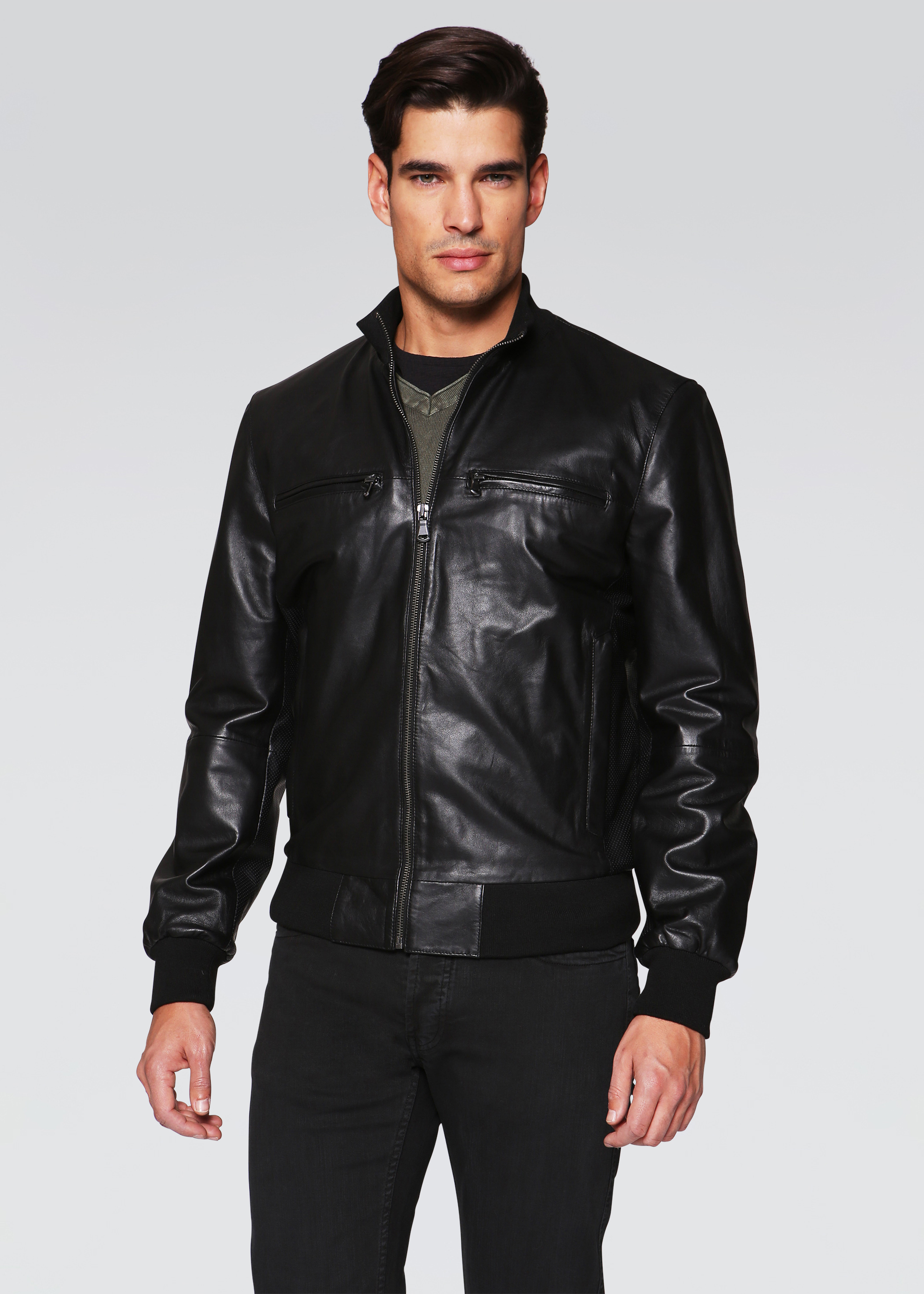 Bomber in nappa