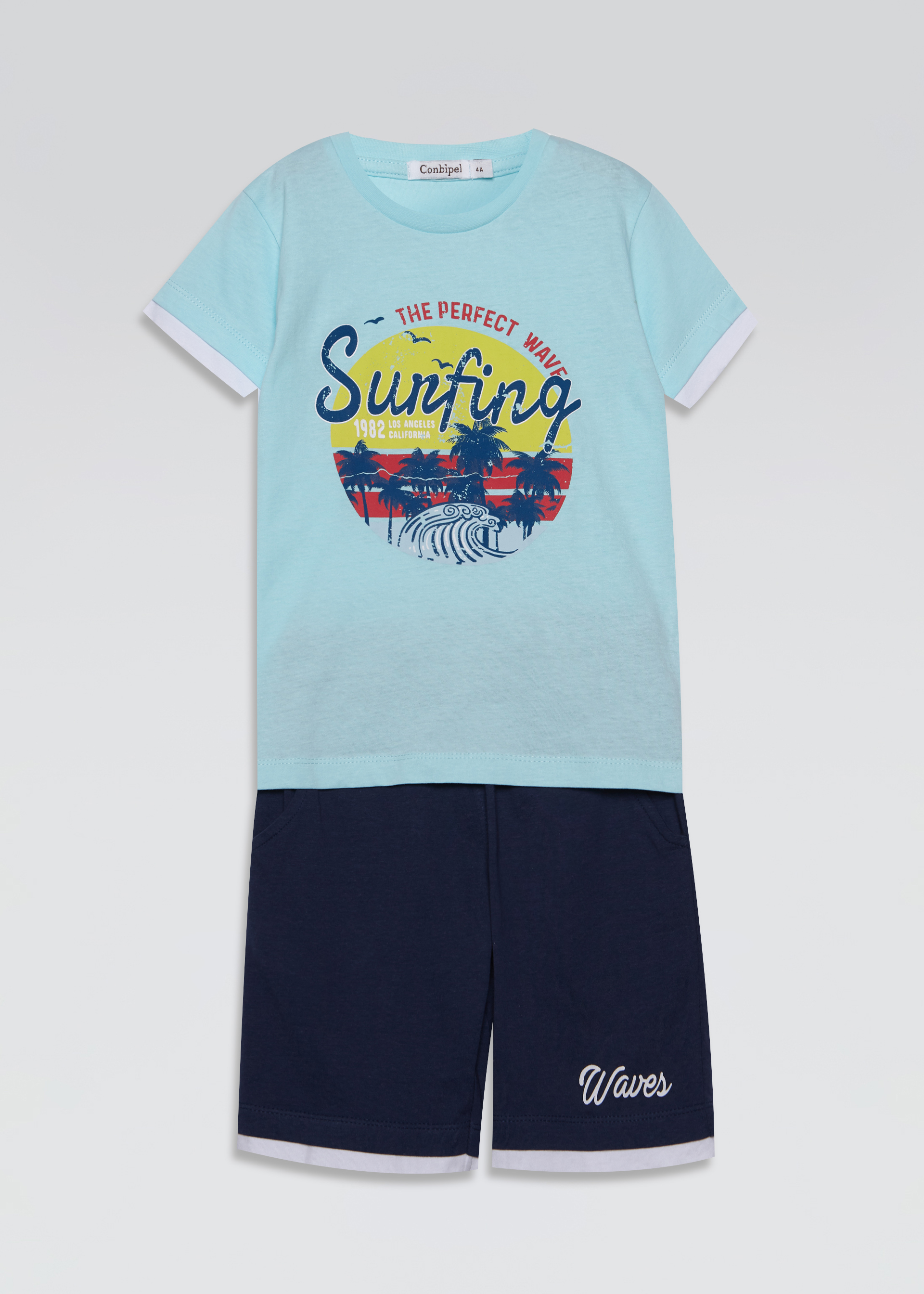 Set t-shirt e bermuda