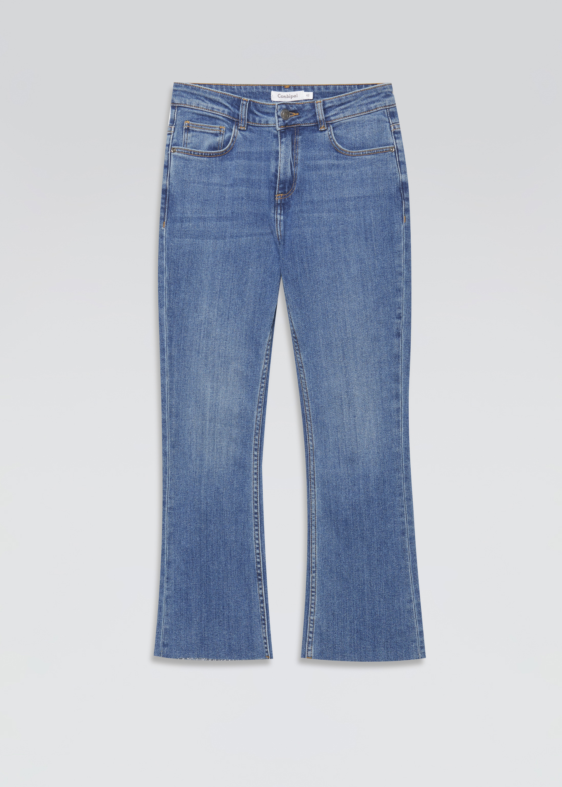 Jeans boot cut cropped