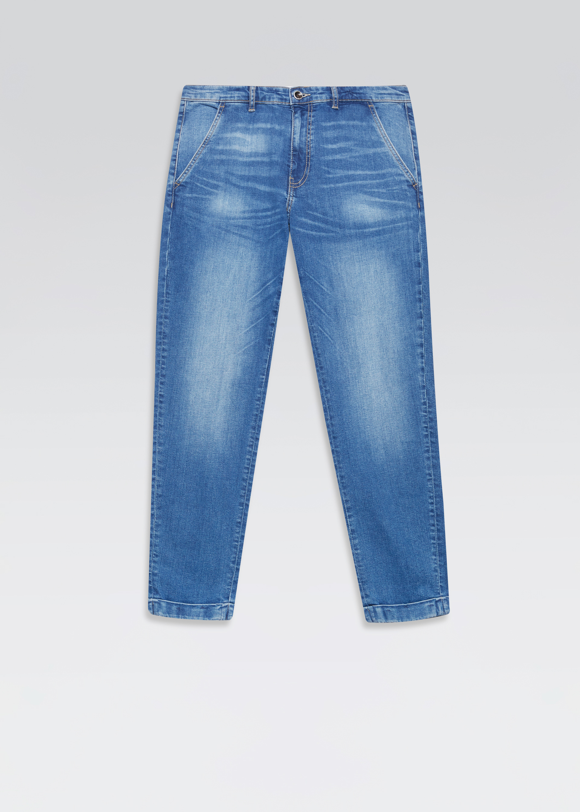 Pantaloni denim cropped