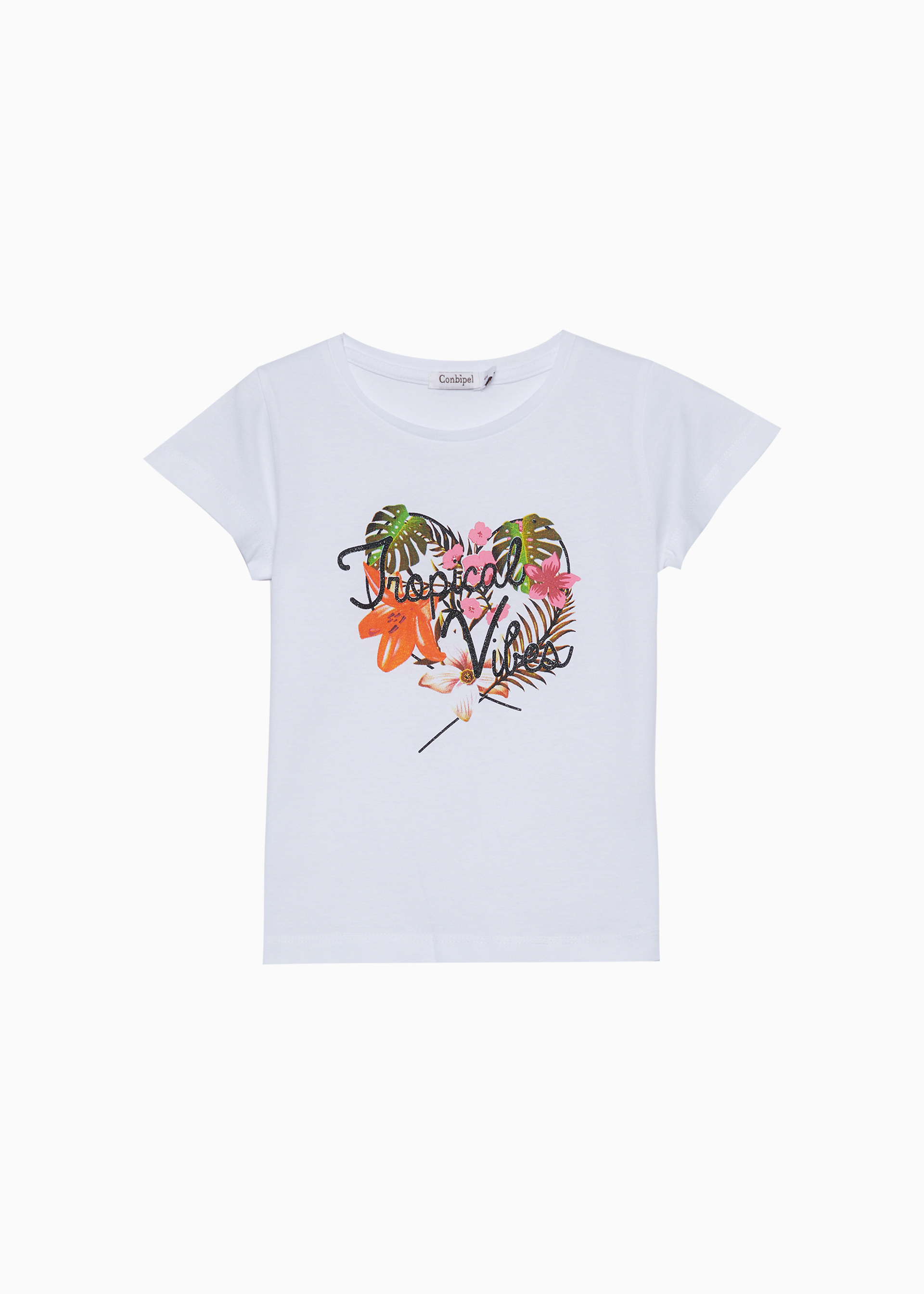 T-shirt stampa cuore