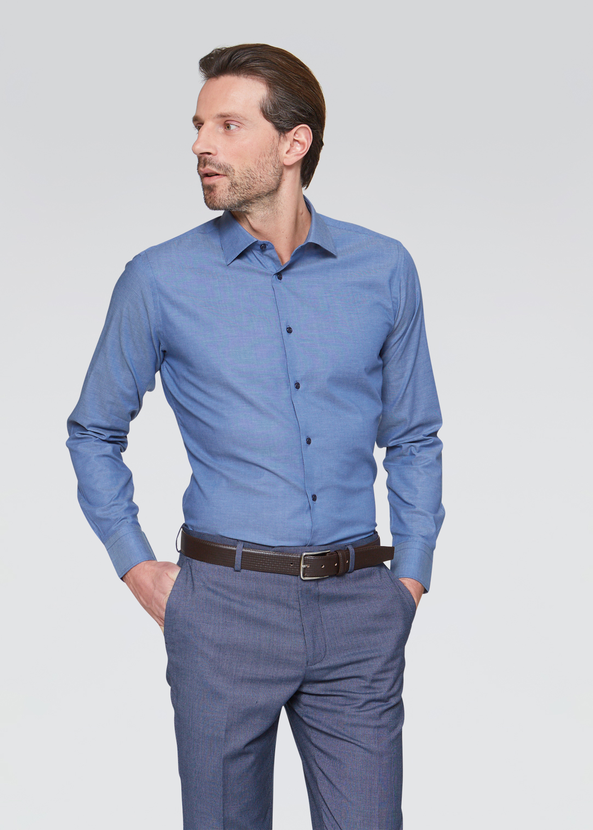 Camicia super slim fit