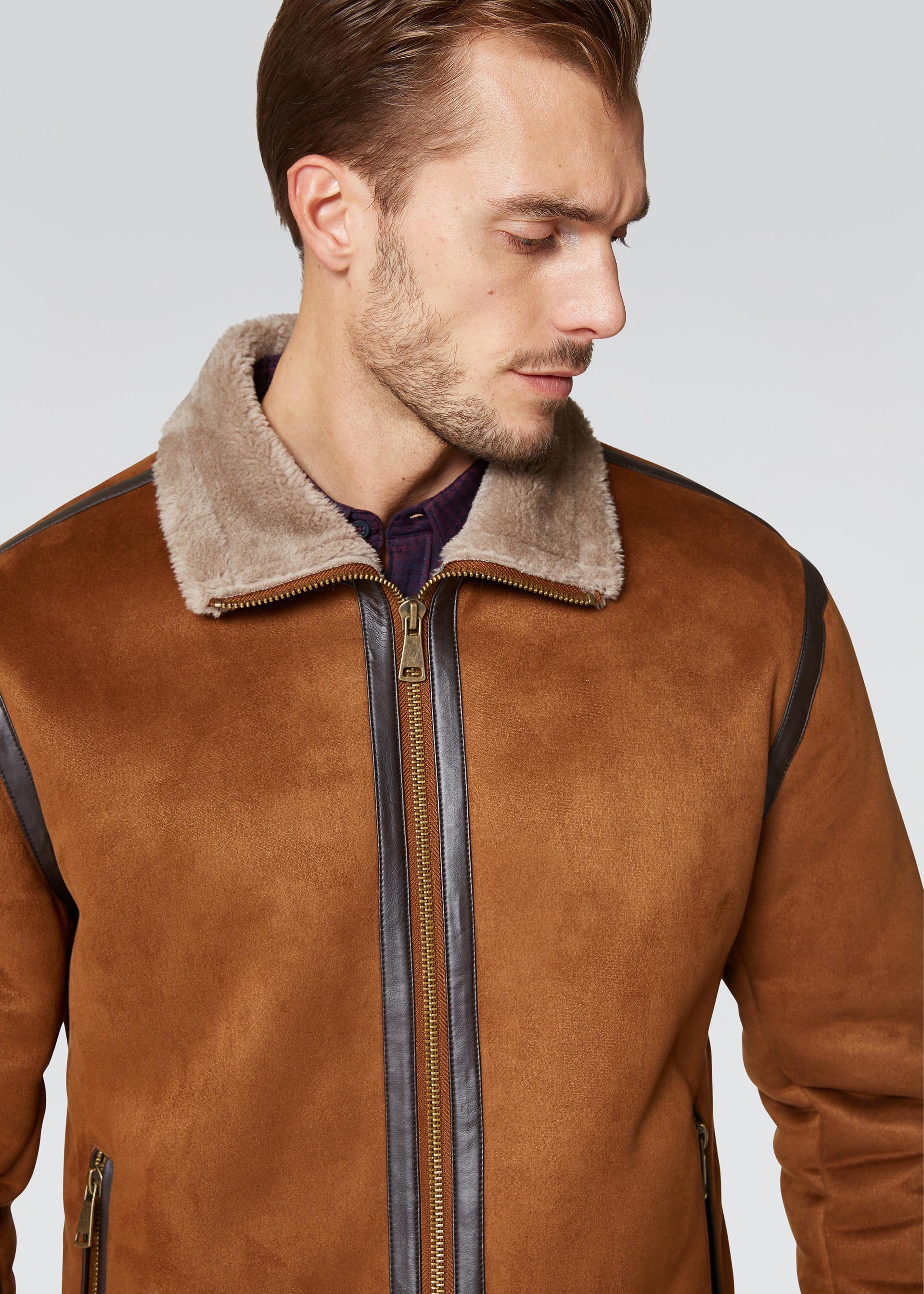giacca montone uomo conbipel