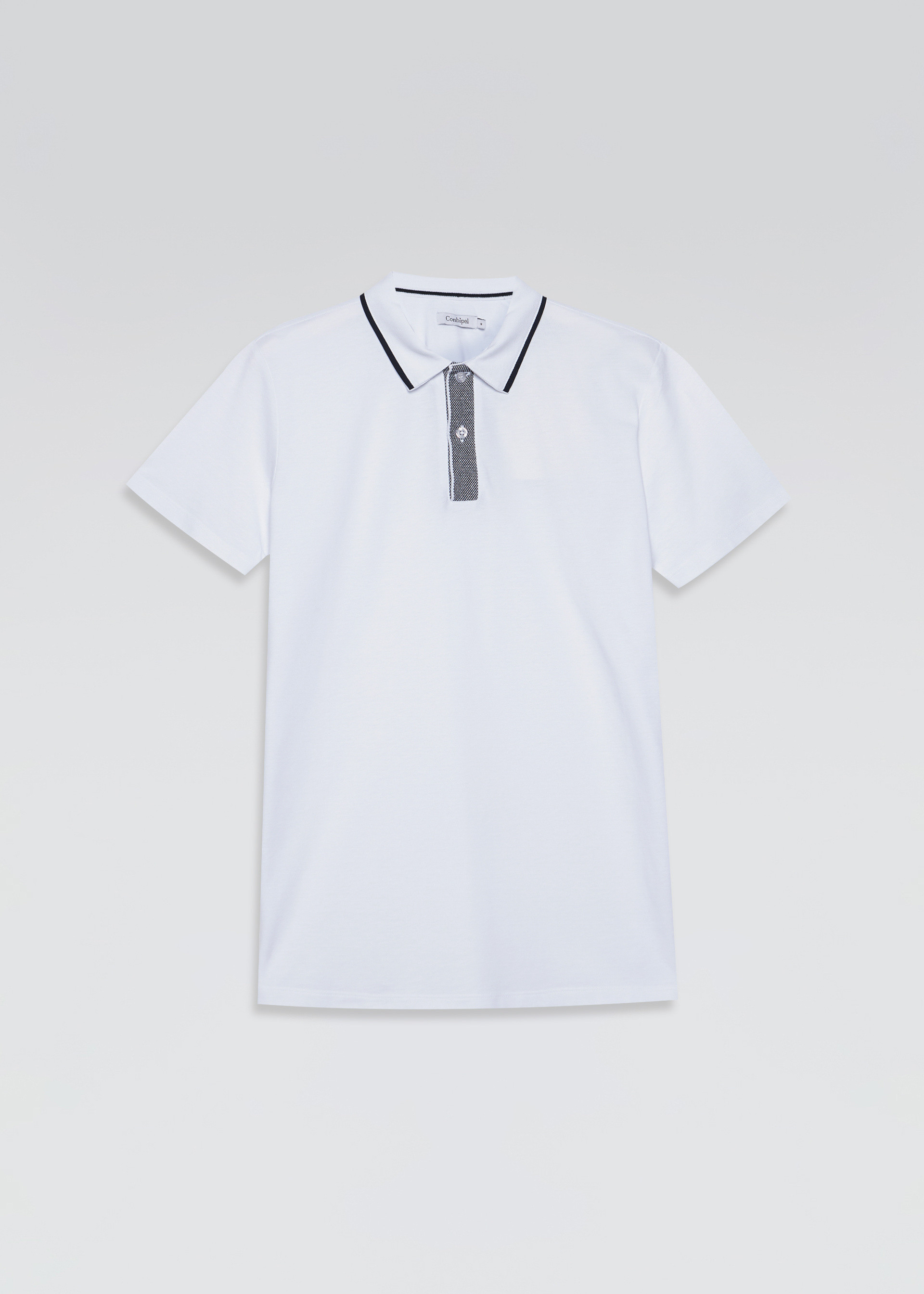 Polo piquet collo camicia