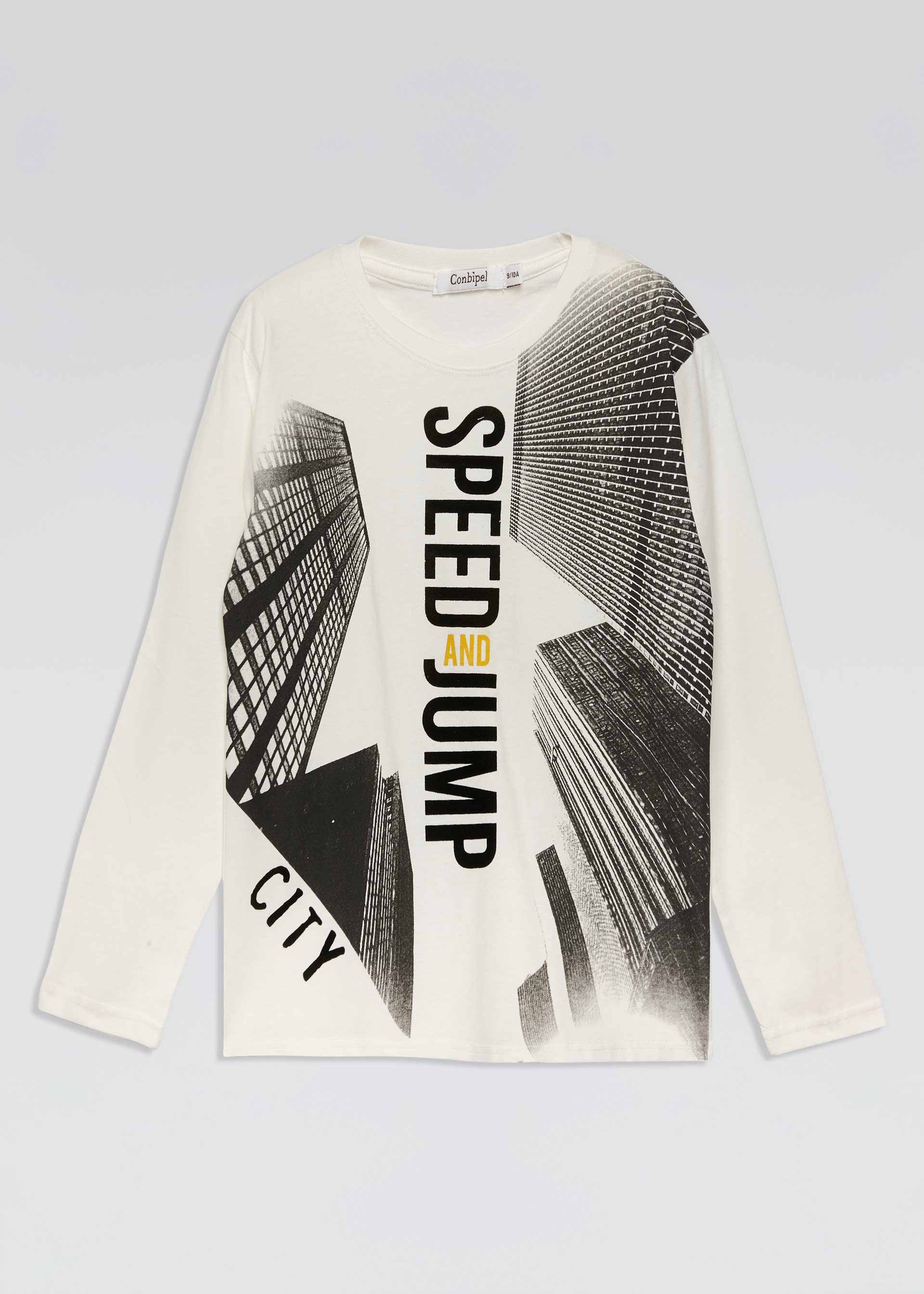 T-shirt stampa skyline