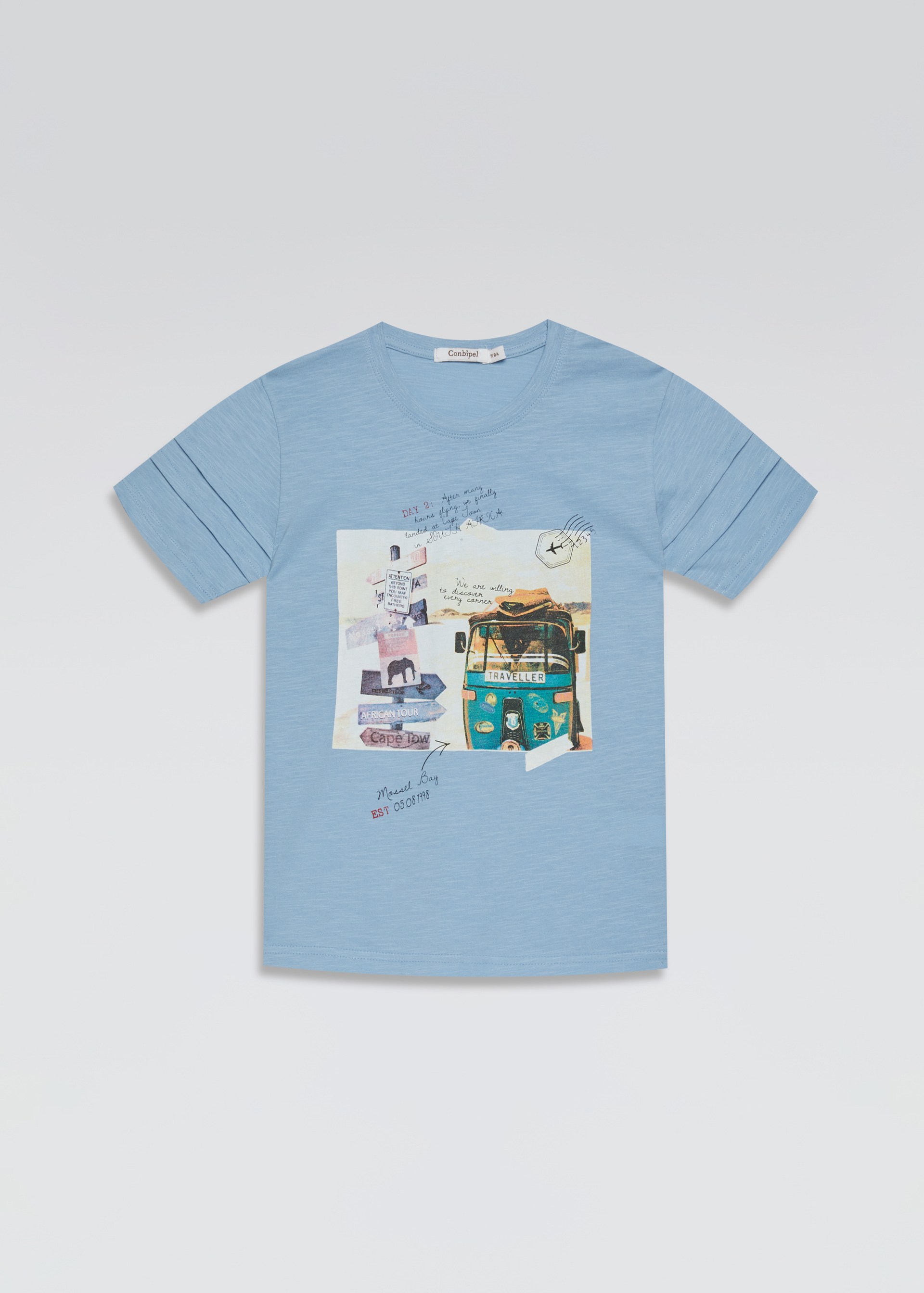 T-shirt stampa travel