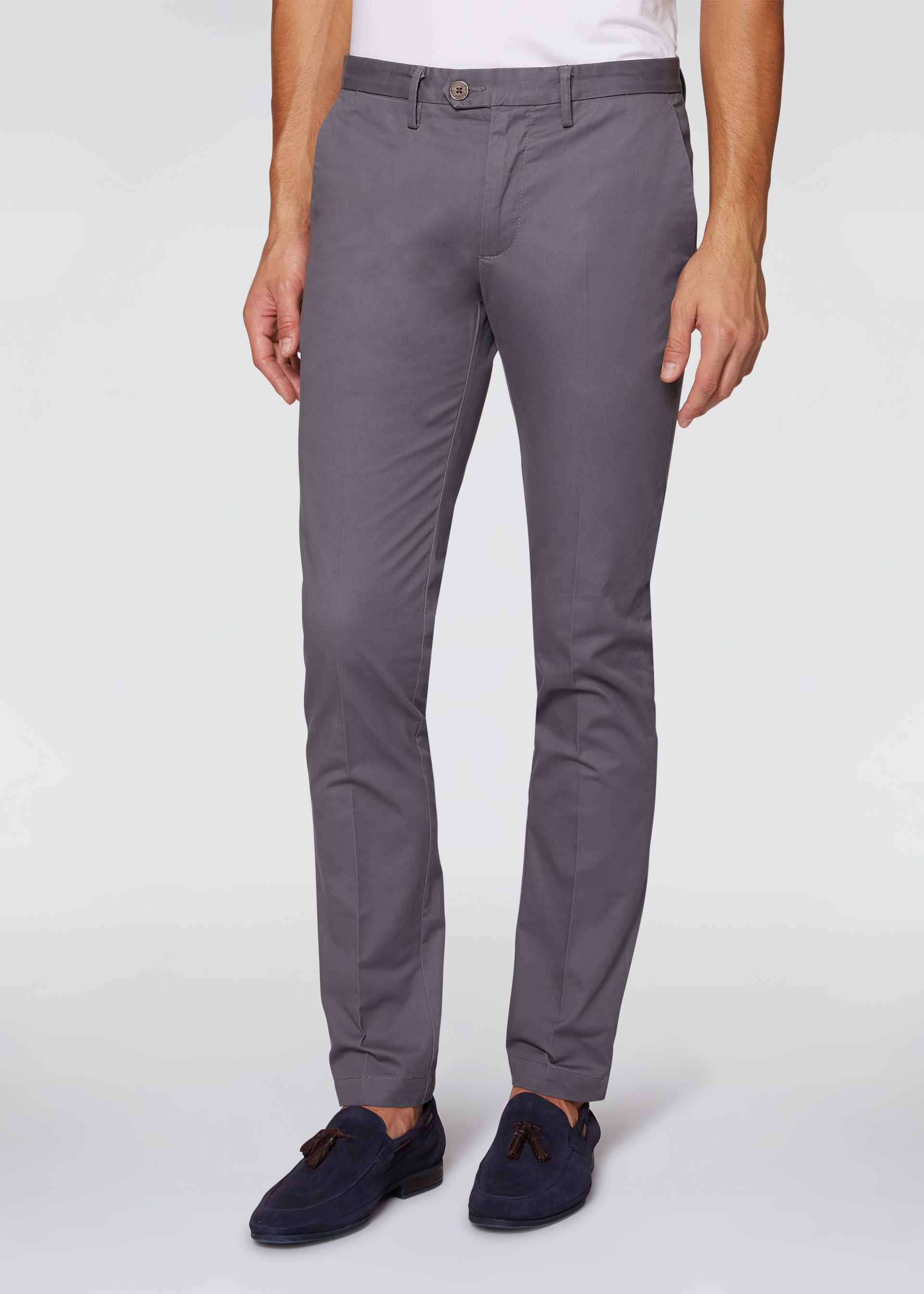 Pantaloni raso stretch