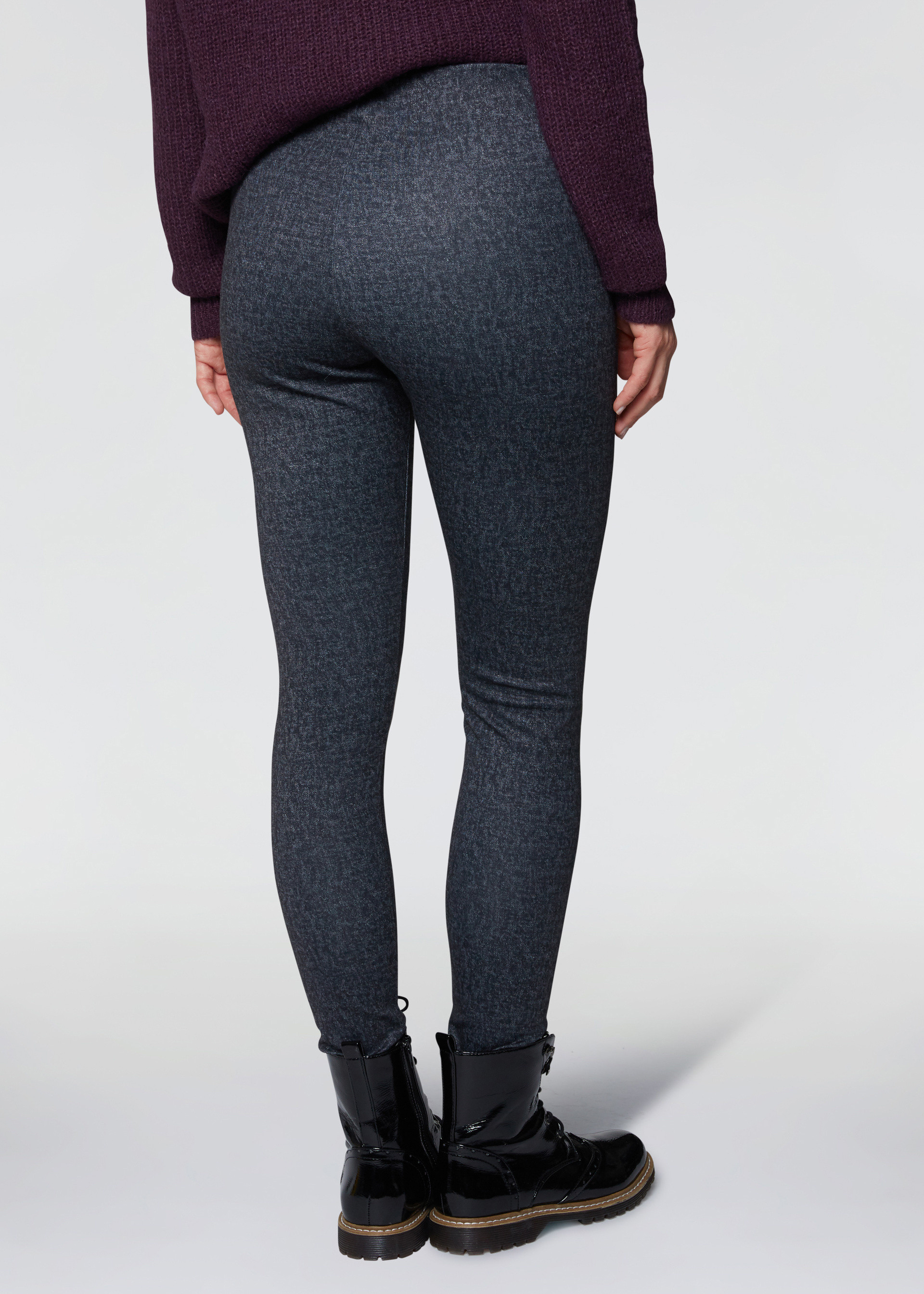 Leggings punto stoffa
