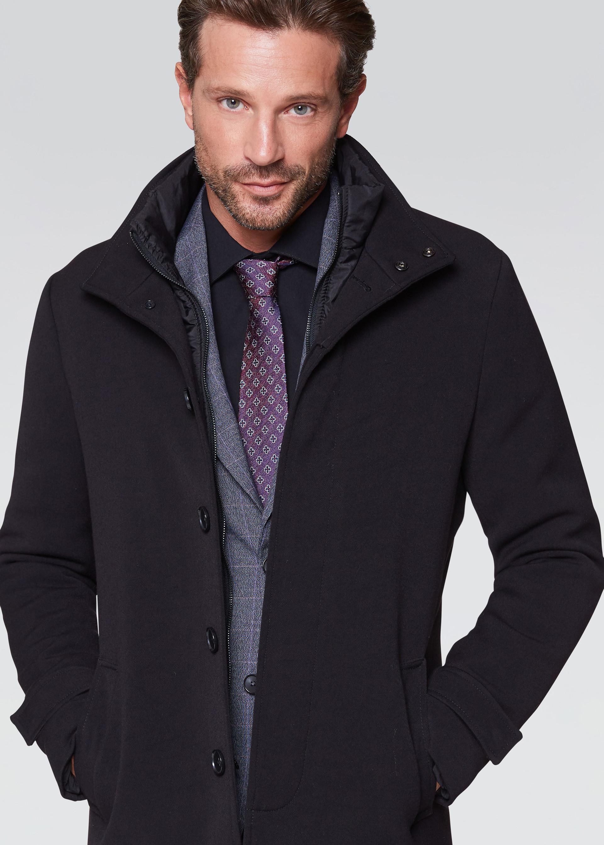 cappotto uomo corto conbipel