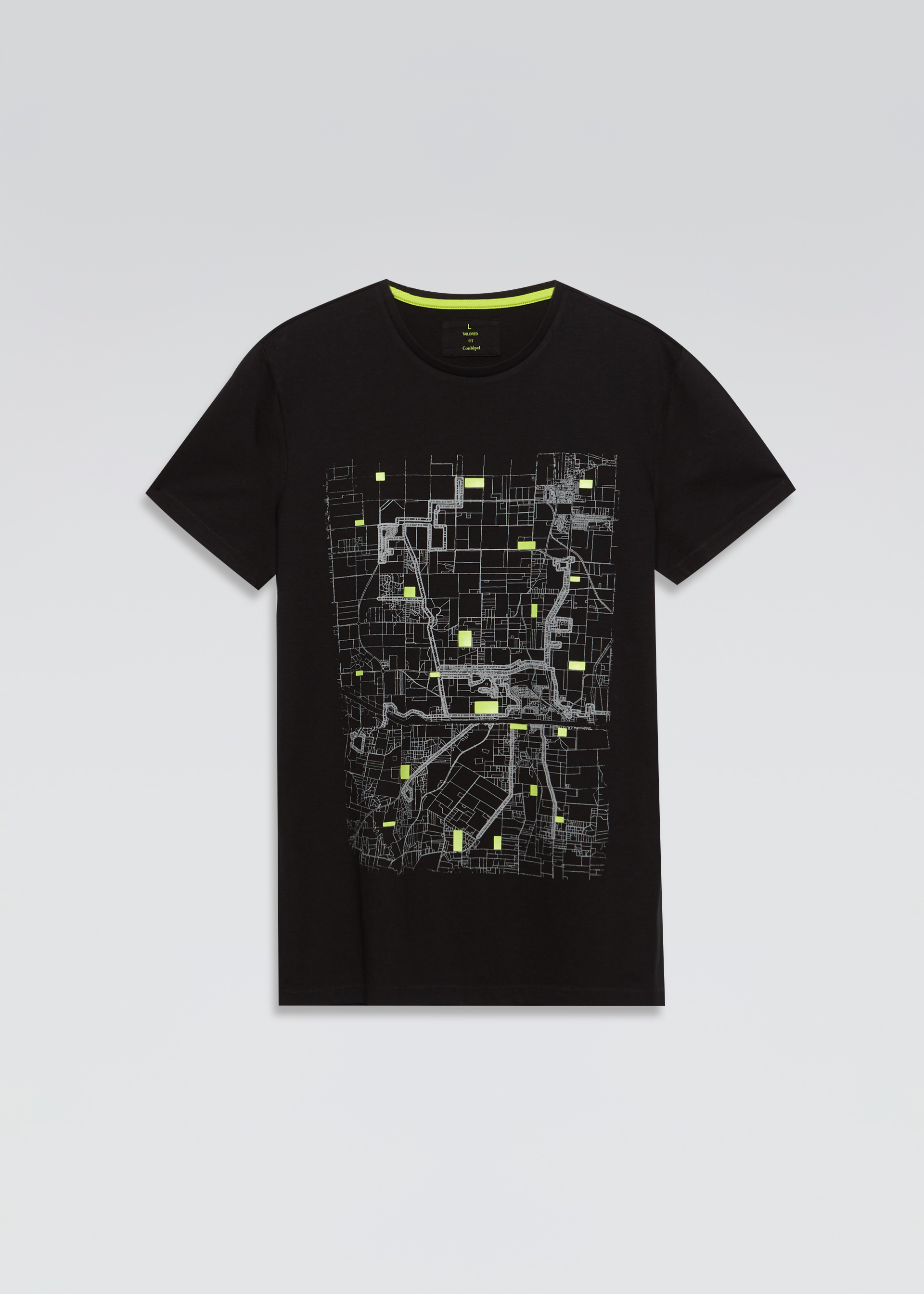 T-shirt stampa city