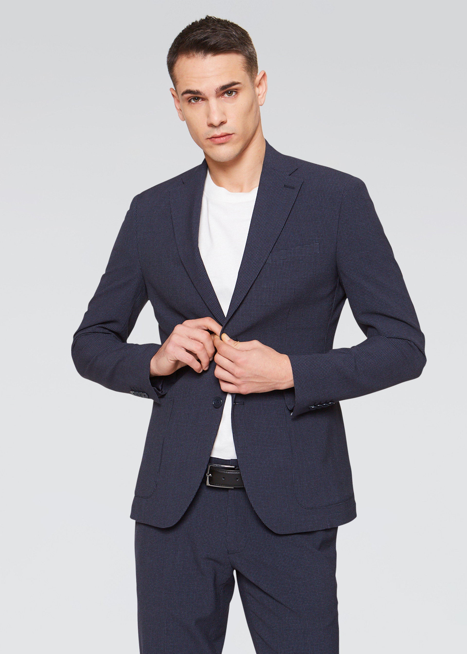Blazer slim fit stretch
