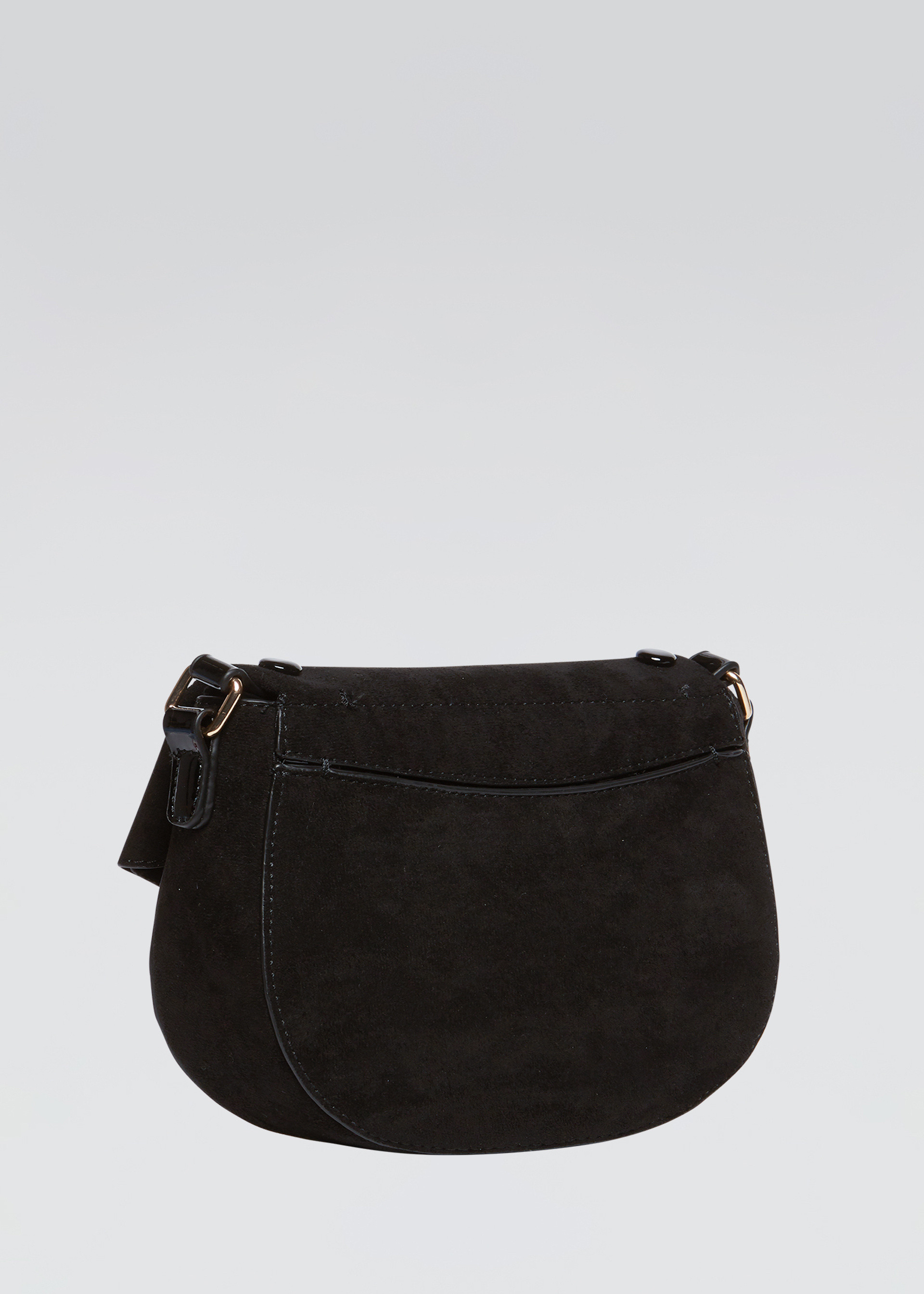 Shoulder bag scamosciata