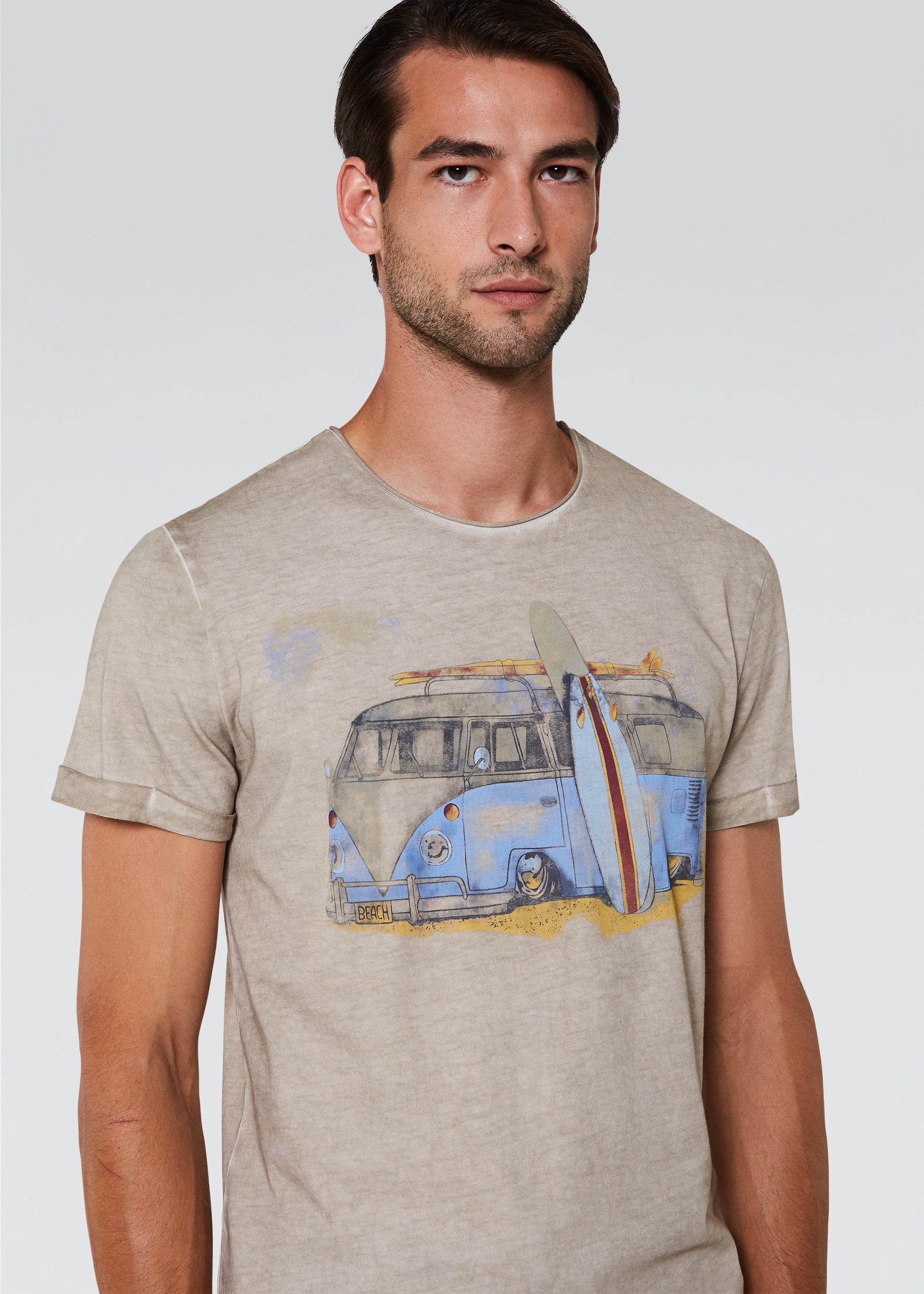 T-shirt con stampa trip