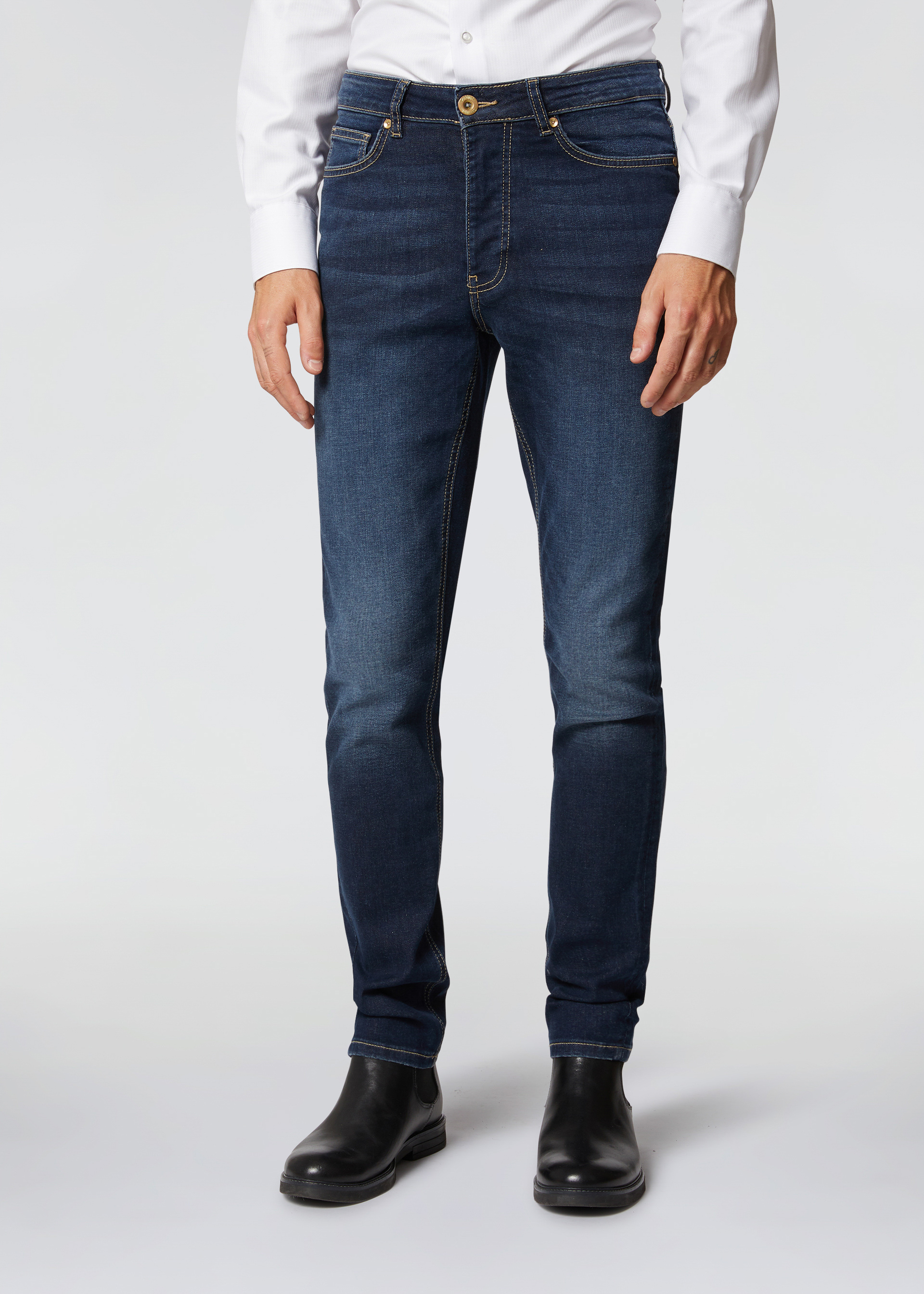 Denim vita bassa stretch
