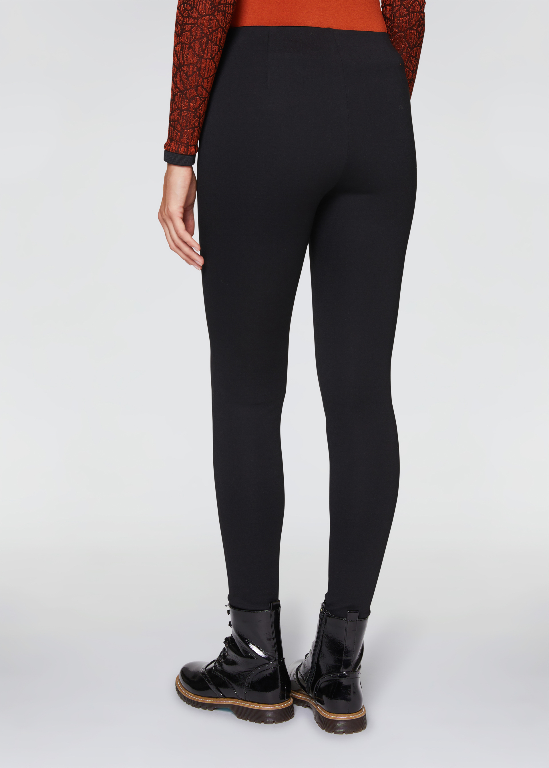 Leggings con zip