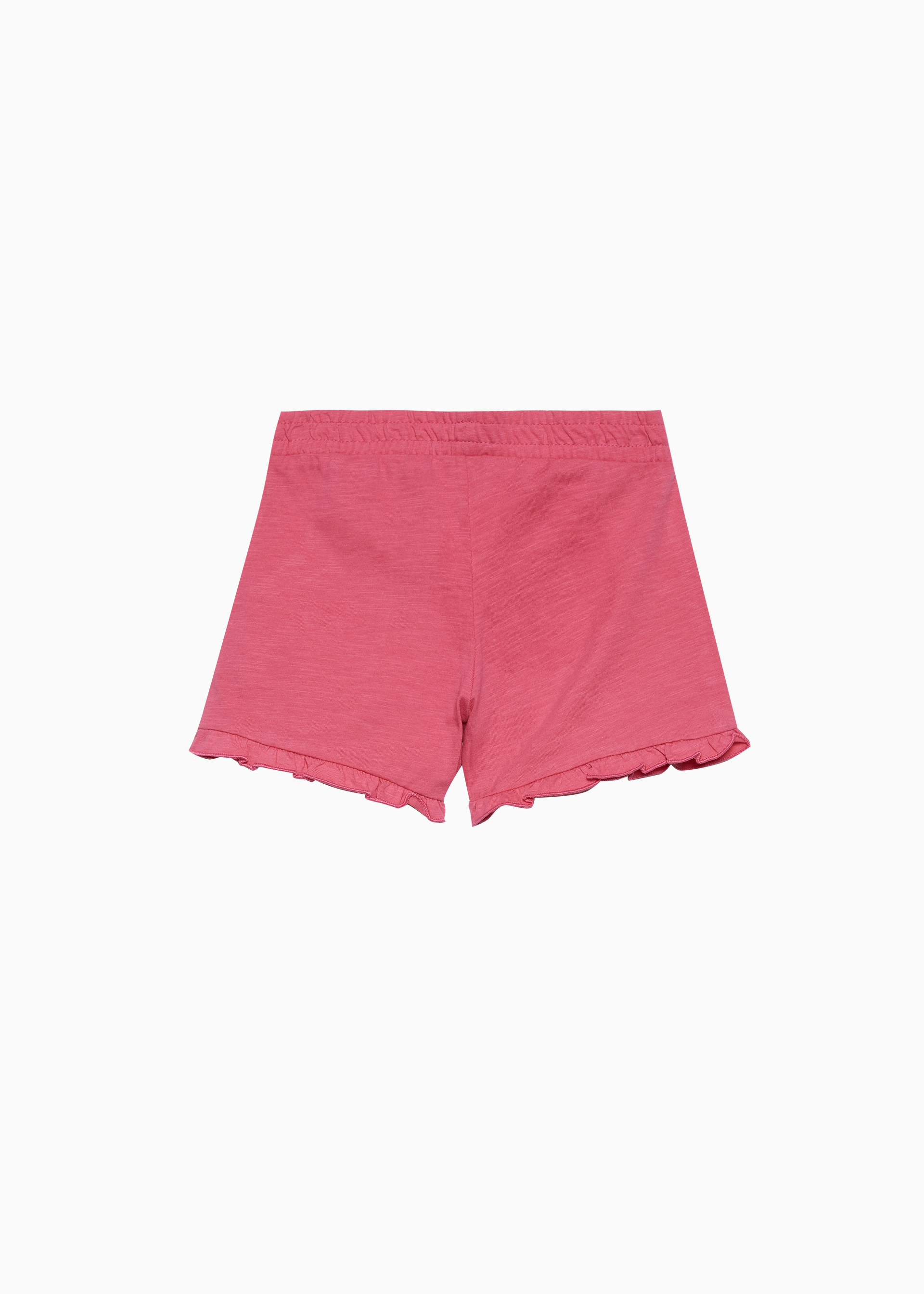 Shorts in jersey slub